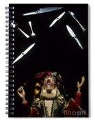Jester Juggling Spiral Notebook