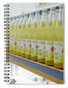 Juices Spiral Notebook