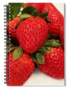 Juicy Strawberries Spiral Notebook