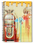 Juke Box Spiral Notebook