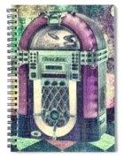 Juke Box Spiral Notebook
