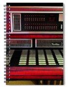 Jukebox - Wurlitzer X7 Spiral Notebook