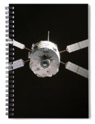 Jules Verne Automated Transfer Vehicle Spiral Notebook