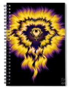 Julia Fire Spiral Notebook