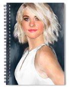 Julianne Hough Spiral Notebook