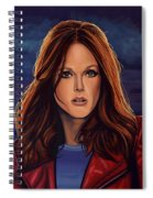 Julianne Moore Spiral Notebook