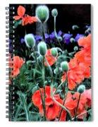 Julia's Garden II Spiral Notebook