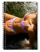 Julie Lay Waterfall Spiral Notebook