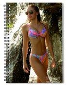 Julie Waterfall Spiral Notebook