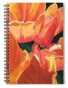 Julie's Tulips Spiral Notebook
