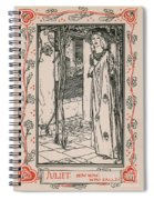 Juliet From Romeo And Juliet Spiral Notebook