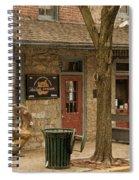 Julius Sturgis Pretzel Factory Spiral Notebook