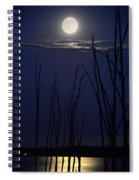 July 2014 Super Moon Spiral Notebook