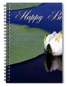 July Birthday Spiral Notebook