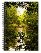 July Indian Lake Looking North Spiral Notebook