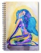 July  Spiral Notebook