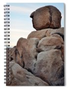 Jumbo Rock Joshua Tree Spiral Notebook