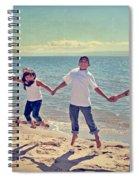 Jump For Joy Spiral Notebook