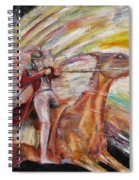 Jump The Rainbow Spiral Notebook