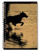 Jumping Spiral Notebook