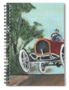 Jumping The Tracks Spiral Notebook