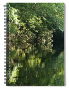 June Morning On The Pawcatuck Spiral Notebook