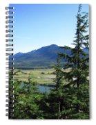 Juneau From Glacier Gardens Spiral Notebook
