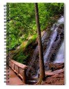 Juney Whank Falls Spiral Notebook