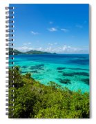 Jungle And Turquoise Water Spiral Notebook