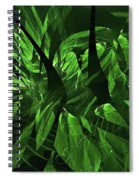 Jungle Clearing  Spiral Notebook