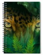 Jungle Eyes - Jaguar Spiral Notebook
