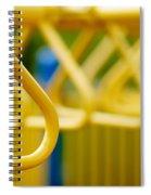 Jungle Gym At Playground Shallow Dof Spiral Notebook
