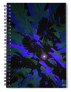 Jungle Night Sky By Jammer Spiral Notebook