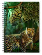 Jungle Spirit - Leopard Spiral Notebook