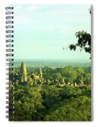 Jungle Temple 01 Spiral Notebook