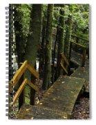 Jungle Walkway Spiral Notebook