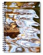 Jungle Water Spiral Notebook