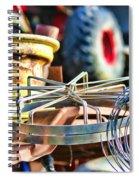 Junk Collage Spiral Notebook