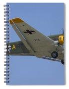 Junkers Ju-52 Spiral Notebook