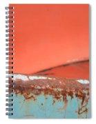 Junkyard Horizon Spiral Notebook