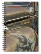 Junkyard Series Old Plymouth Spiral Notebook