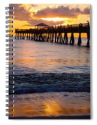 Juno Beach Pier Spiral Notebook