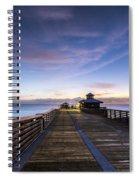 Juno Beach Pier Spiral Notebook