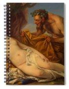 Jupiter And Antiope Spiral Notebook