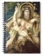 Jupiter And Semele  Spiral Notebook