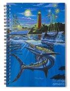 Jupiter Boat Parade Spiral Notebook