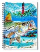 Jupiter Snook Spiral Notebook