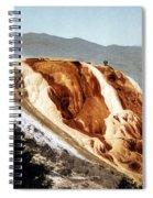 Jupiter Terrace Yellowstone National Park Spiral Notebook