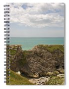 Jurassic Coast At Lulworth Spiral Notebook