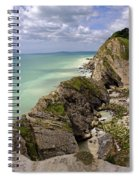 Jurassic Coast From Lulworth Cove Spiral Notebook